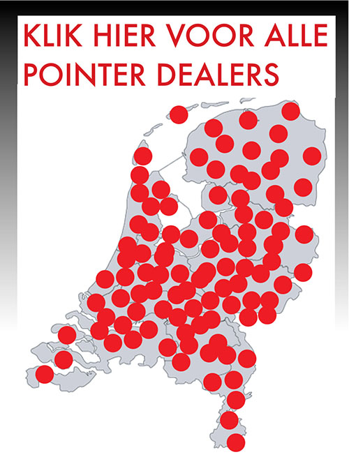 Vind een Pointer dealer